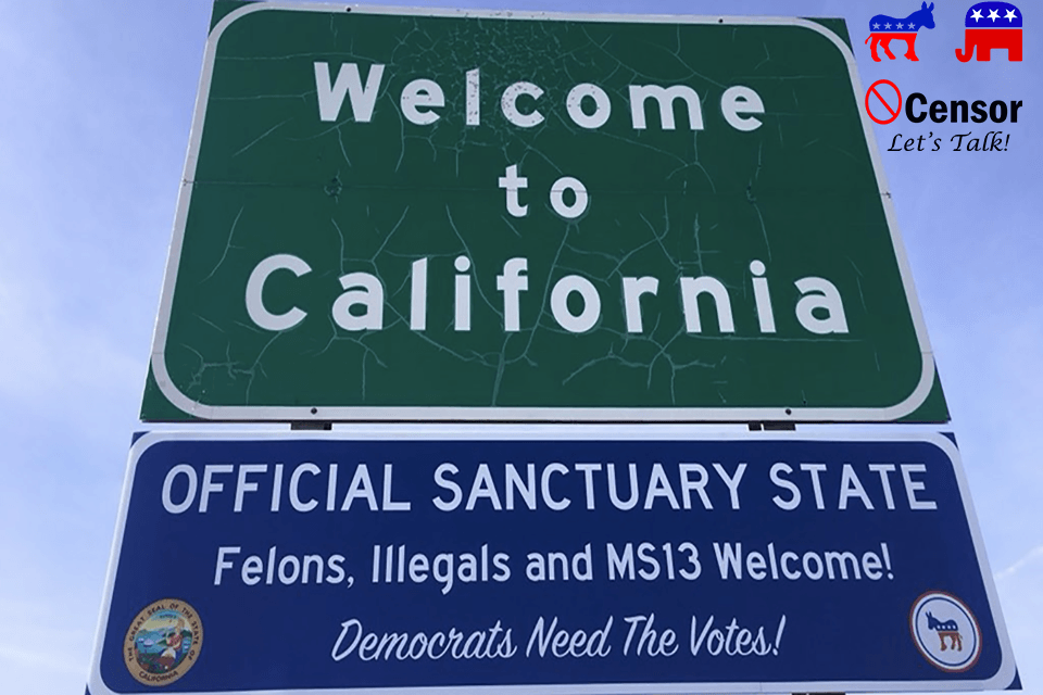California Throws Down The Gauntlet At Trump