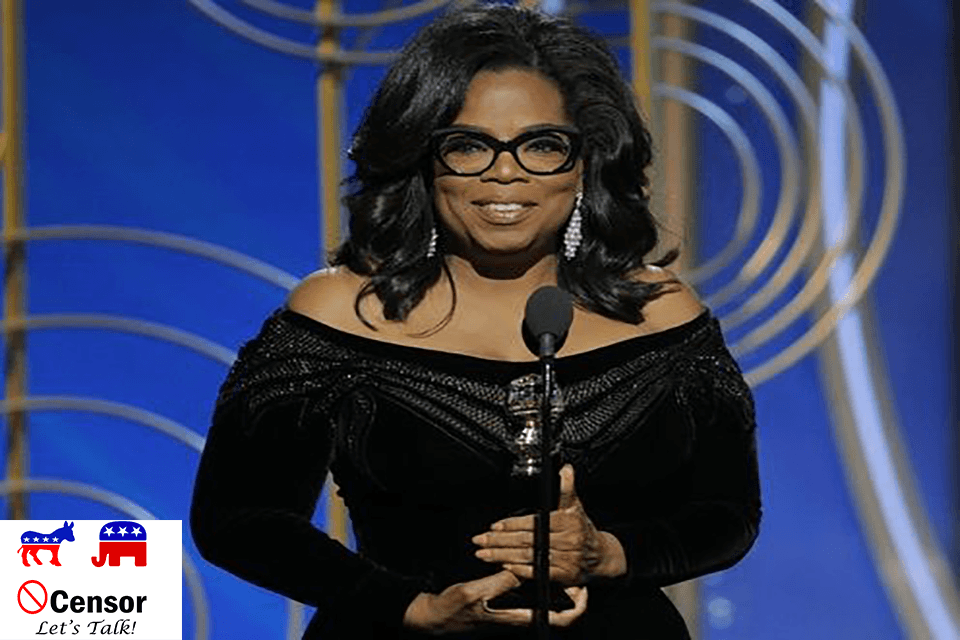 Oprah, Don't Run, Stay on TV