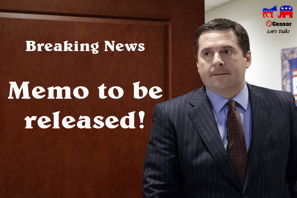 Breaking News, Memo To Be Released
