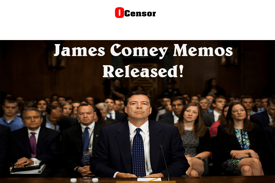 James Comey Memo's Released