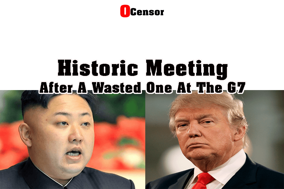 Historic Meeting After A Wasted One At The G7