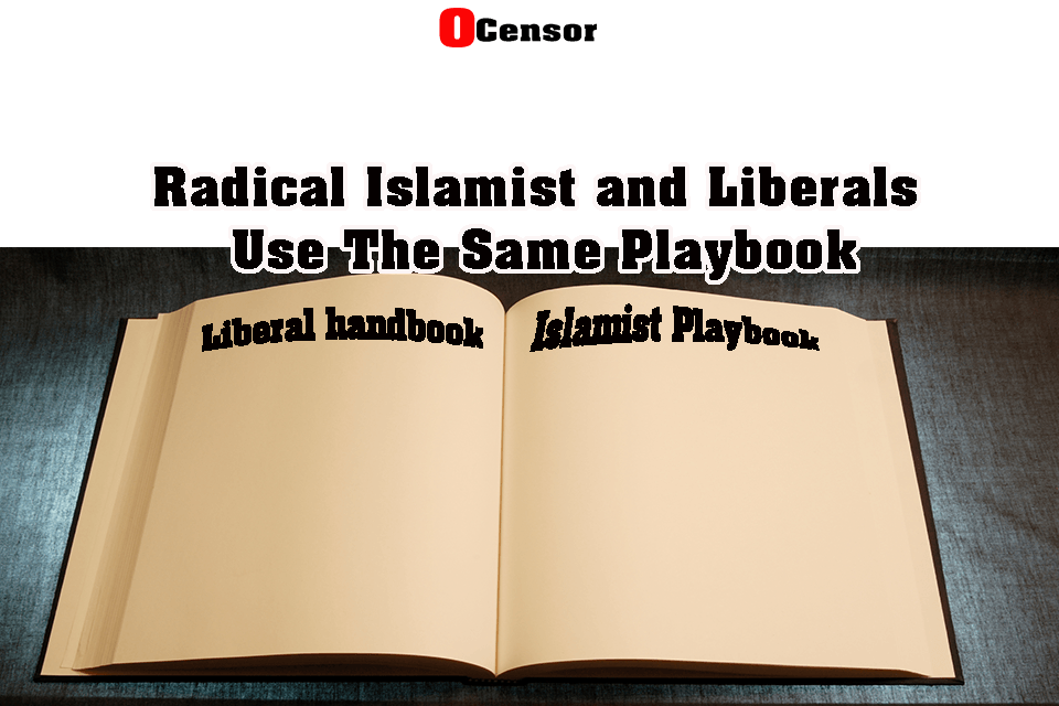 Radical Islamist and Liberals Use The Same Playbook