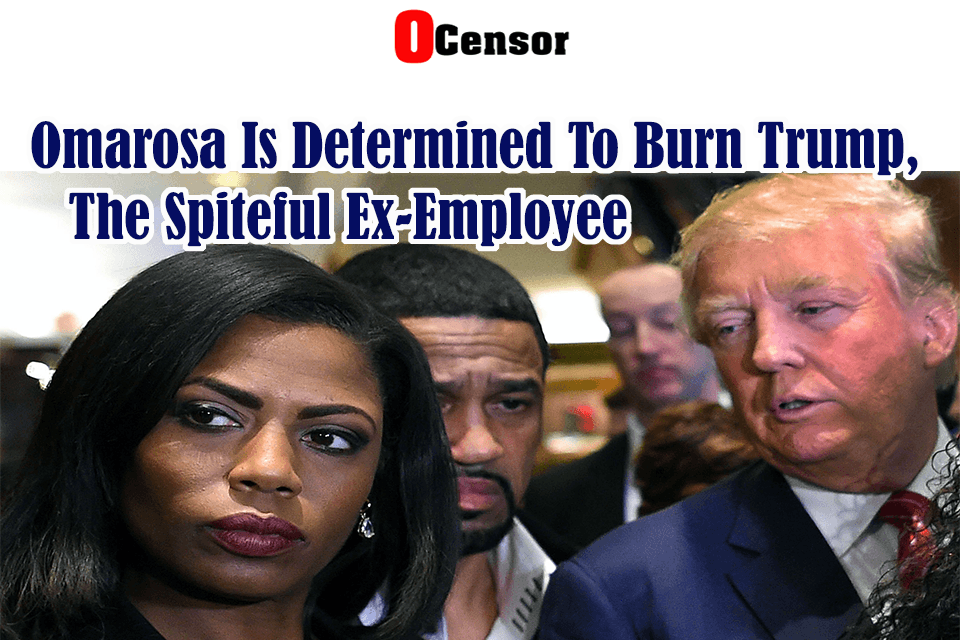Omarosa Is Determined To Burn Trump, The Spiteful Ex-Employee