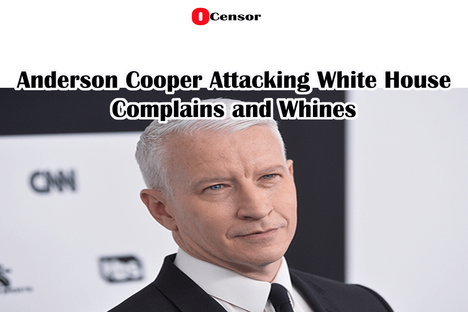 Anderson Cooper And The Press Don't Realize, They Are Working For a Corpse