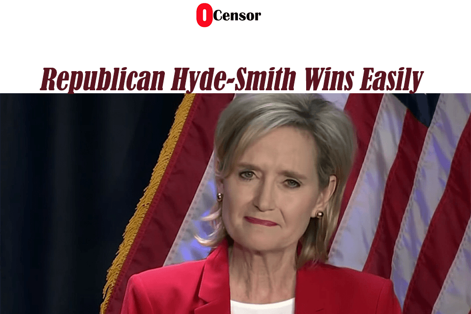 Republican Hyde-Smith Wins Easily