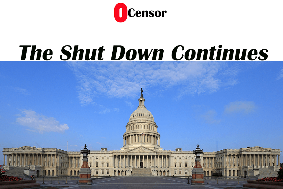 The Shut-Down Continues