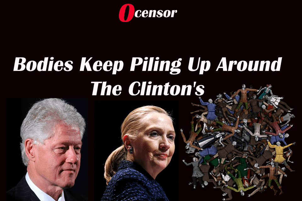 Bodies Keep Piling Up Around The Clinton's