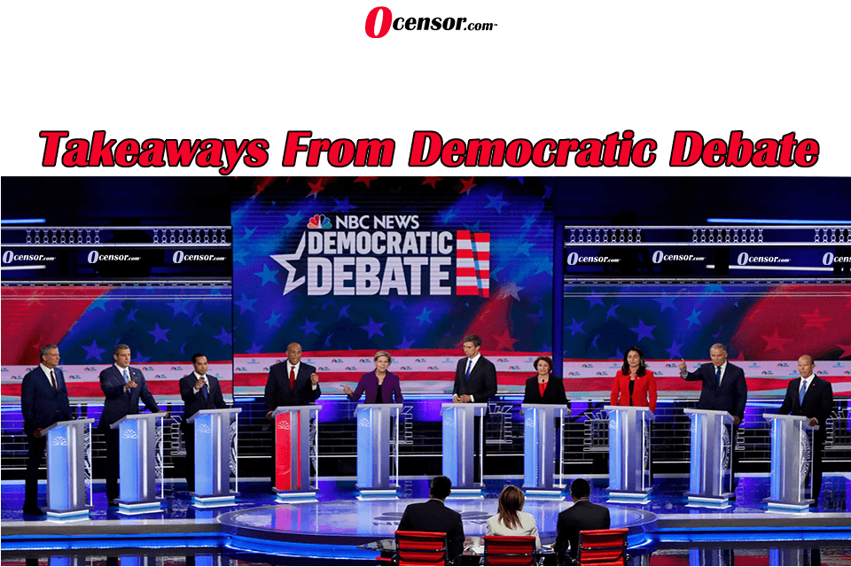 Takeaways From Democratic Debate