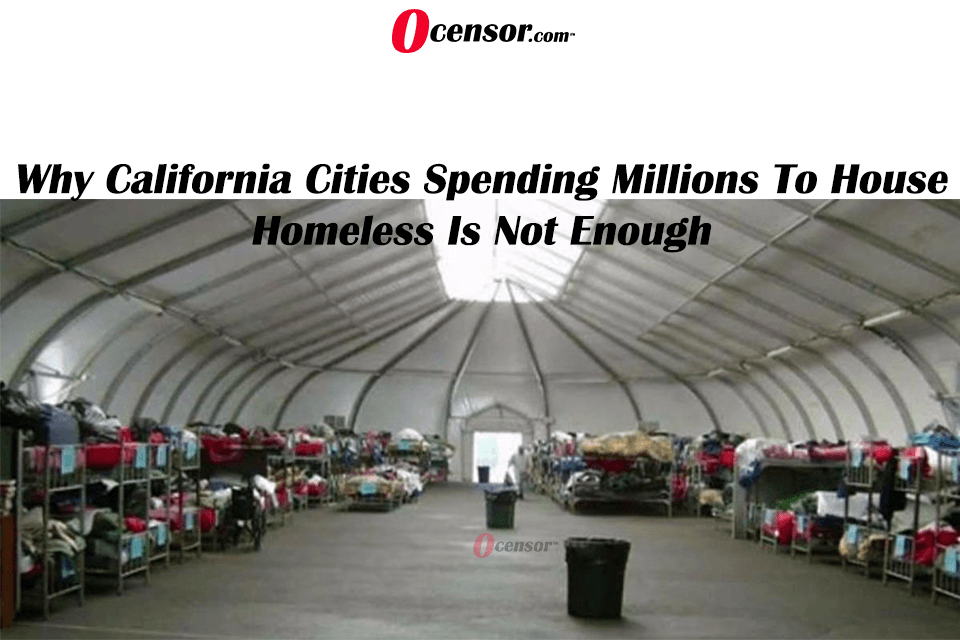 Why California Cities Spending Millions To House Homeless Is Not Enough