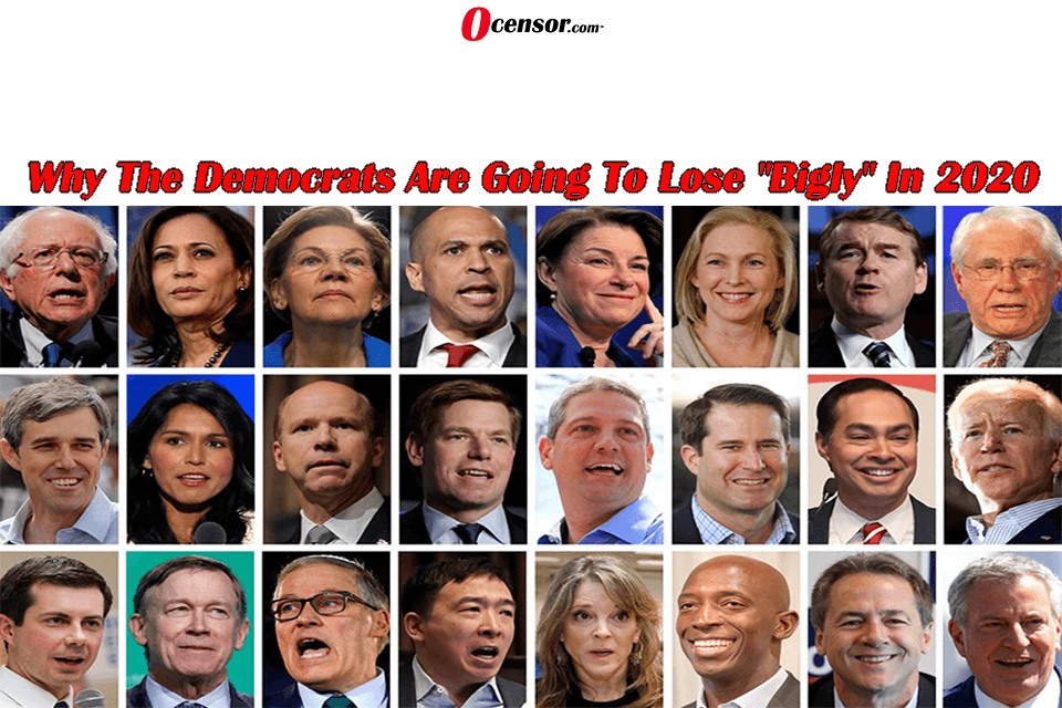 """Why The Democrats Are Going To Lose """"Bigly"""" In 2020"""
