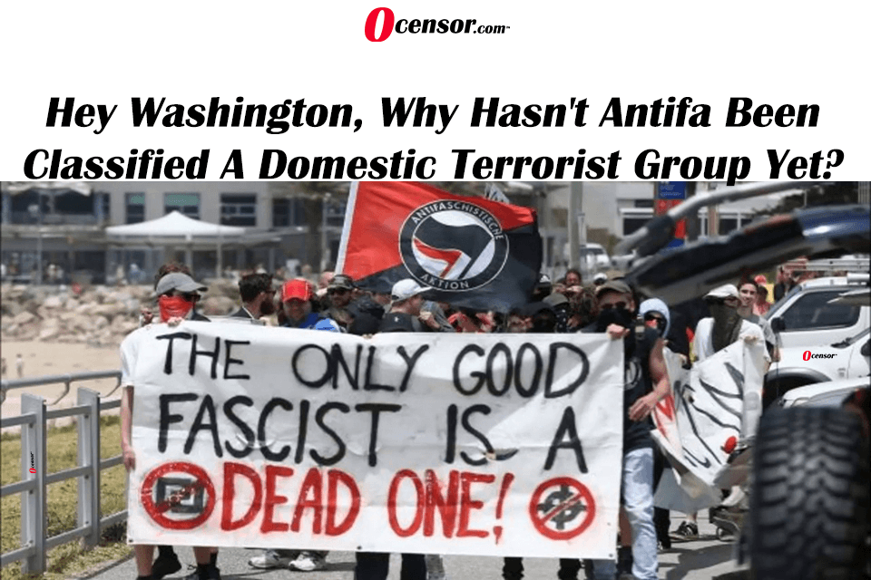 Hey Washington, Why Hasn't Antifa Been Classified A Domestic Terrorist Group Yet?