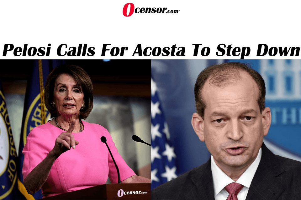 Pelosi Calls for Acosta To Step Down