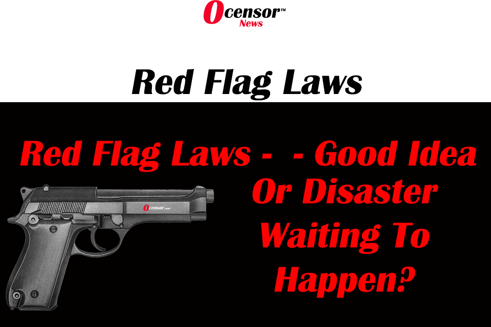 Red Flag Laws – Good Idea Or Disaster Waiting To Happen?