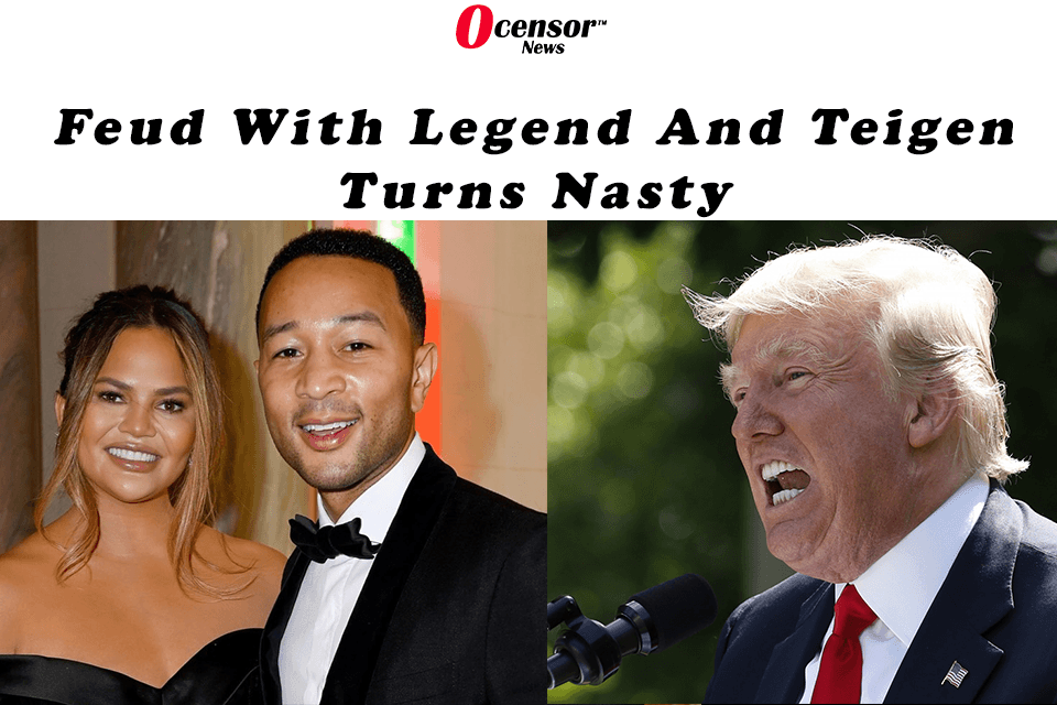 Feud With Legend And Teigen Turns Nasty