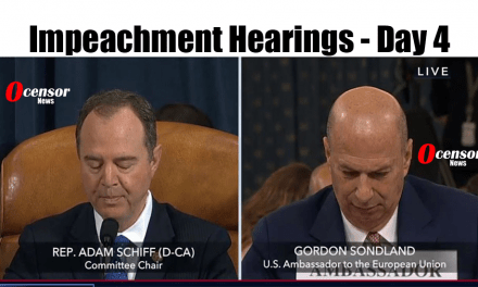 Impeachment Hearings – Day 4