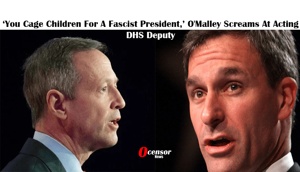 'You Cage Children For A Fascist President,' O'Malley Screams At Acting DHS Deputy