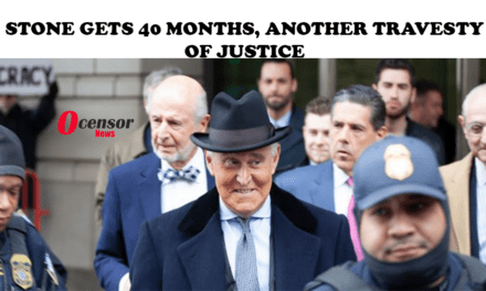 Stone Gets 40 Months, Another Travesty Of Justice