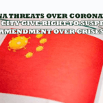 China ThreatS Over Coronavirus, Illinois City Give Right to Suspends 2nd Amendment over crises