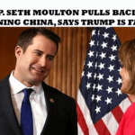 U.S. Rep. Seth Moulton Pulls Back From Condemning China, Says Trump Is Far Worse